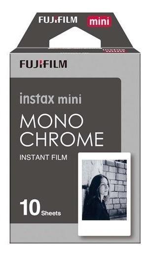 Filme Instax Mini Monochrome Preto E Branco Instantaneo