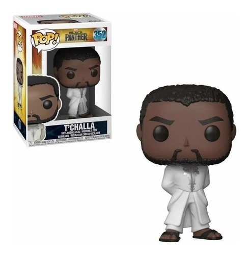 Funko Pop T'challa 352! Black Panther