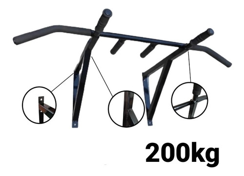 Imagen 1 de 5 de Dorsalera/barra Para Dominadas Para Pared