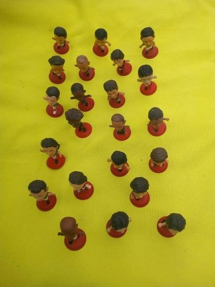 Cabezones Futboleros De Coca Cola