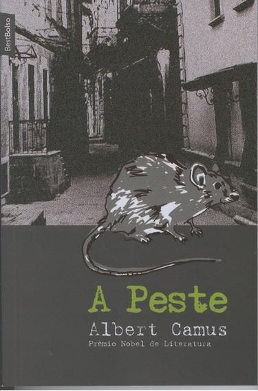 Livro A Peste - Albert Camus - Edição De Bolso