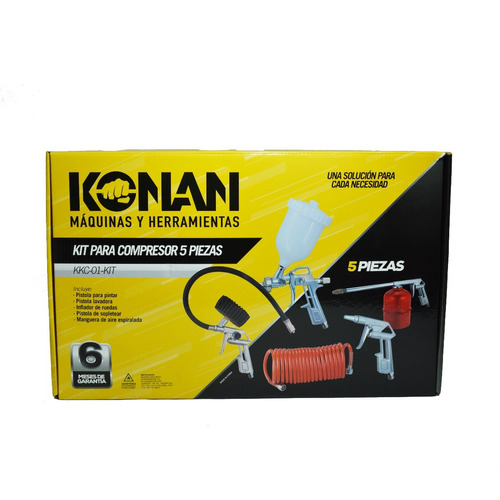 Kit De Aire Para Compresor Konan