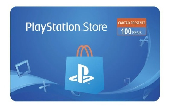 Gift Card Playstation R$ 100