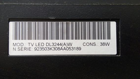 Teclado E Sensor Tv Semp Toshiba Led Dl3244(a)w