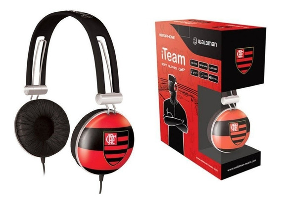 Headphone Flamengo Waldman
