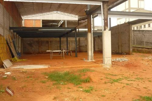 Galpão Industrial Para Locação, Vila Sofia, São Paulo - Ga0002. - Ga0002