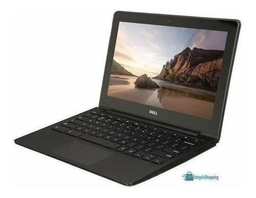 Imagen 1 de 3 de Laptop Económica Estudiantes Dell Chromebook 11.6  4+16 Usad