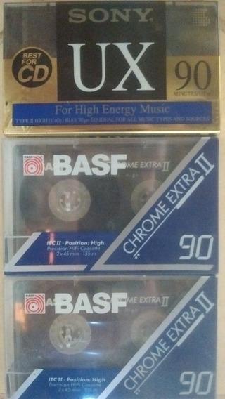Fitas Cassete Bash E Sony