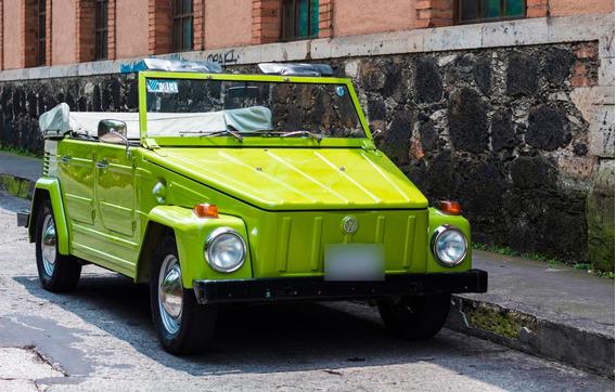Volkswagen Safari 70, Color Verde Claro