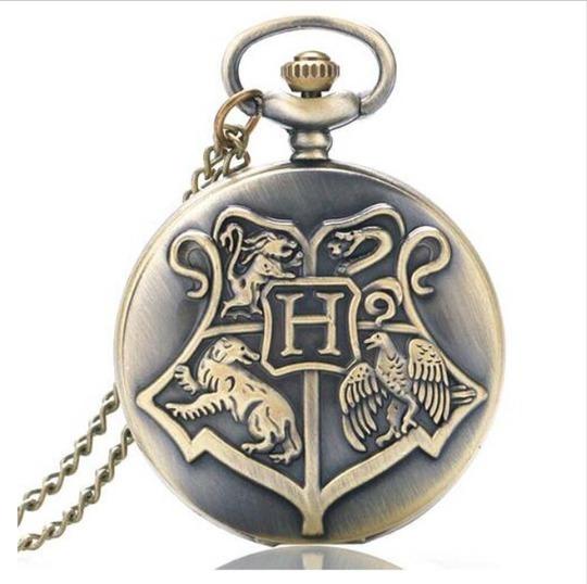 Lote Dez Relógios De Bolso Hogwarts Harry Potter