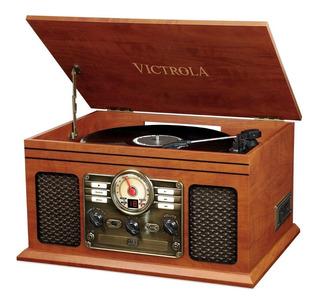 Tornamesa Victrola Classic Toca Discos Vinil Bluetooth Album