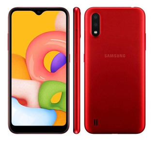 Smartphone Samsung Galaxy A01 32gb 13mp Tela 57 Vermelho