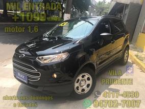 Ford Nova Ecosport 1.6 16v Se Mil Entrada +1099 Mensais