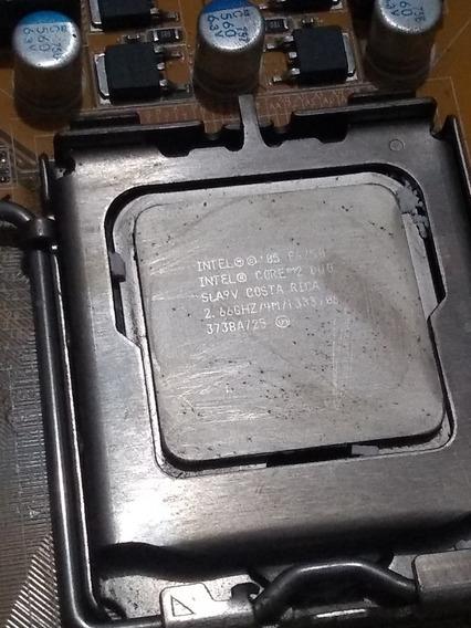 Placa Mãe Asus P5k Se Green+processador Dual Core+cooler+ram