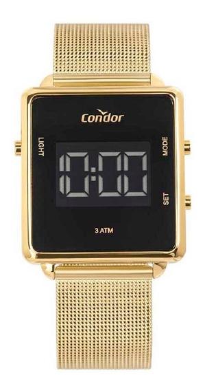 Relógio Condor Unissex Digital Cobjf156ab/4x Dourado Lançame