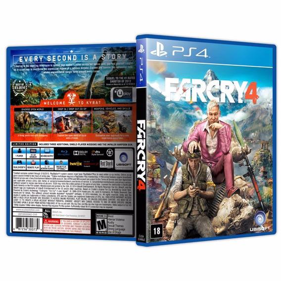 Jogos Playstation 4: Far Cry, Witcher 3, Battlefield 4, Fifa