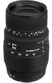 Lente Sigma 70-300mm F/4-5.6 Dg Macro Para Canon 12x S/juros