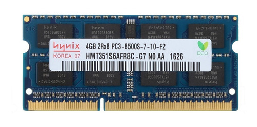 Memoria 4gb 1066 Mhz Pc3 8500 Ddr3 Hynix Sodimm Laptop Nuevo
