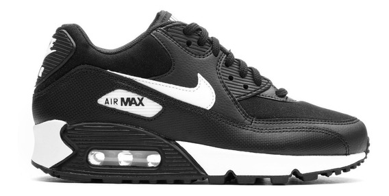 Zapatillas Nike Air Max 90 Black-white - Mujer