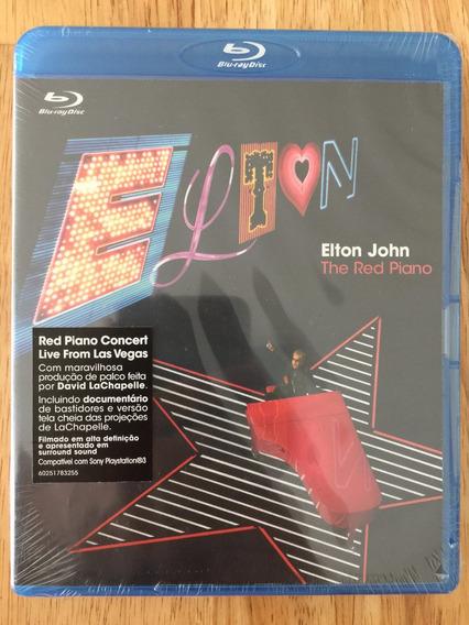 Blu-ray Elton John The Red Piano (2008) Lacrado De Fábrica!!