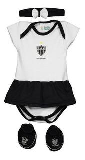 Kit Body Atlético Mineiro Feminino