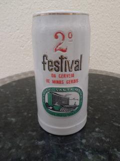 Caneco De Chopp Antigo Festival Cerveja Minas Gerais Santa M