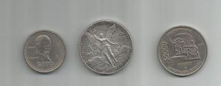 Lote De 3 Monedas
