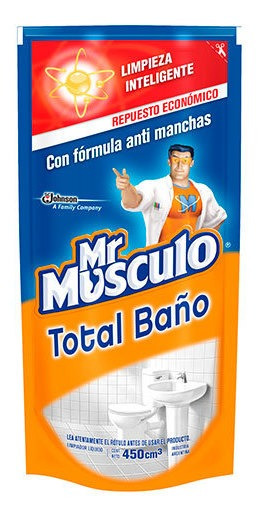 Mr. Músculo Baño - Doypack 450 500 Ml