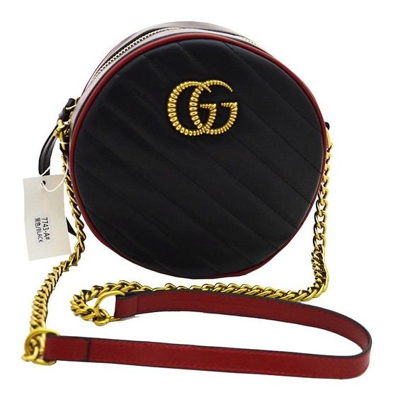 Bolsos Dama Gucci Marmont Redondo Bcd05