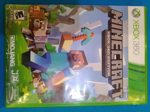 Minecraft - Xbox 360 - Midia Fisica (g)