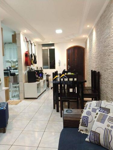 Imagem 1 de 14 de Apartamento À Venda, 56 M² Por R$ 196.000,00 - Conjunto Residencial José Bonifácio - São Paulo/sp - Ap0177