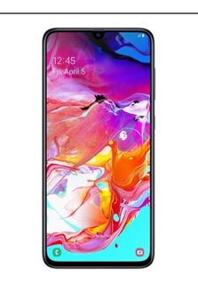 Samsung Galaxy A70 128gb, Novo Lacrado