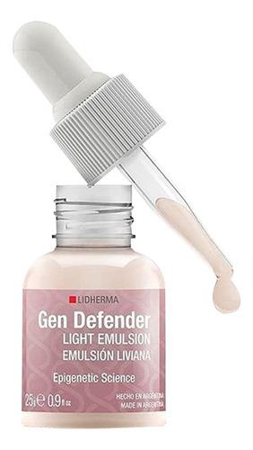 Hidratación Gen Defender Emulsión Liviana 25g Lidherma