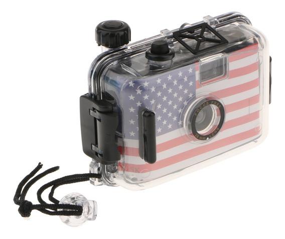 Câmera De Filme Impermeável Reutilizável 35mm Portátil D