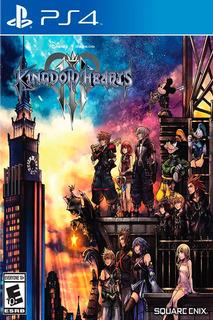 Ps4 Kingdom Hearts 3 Original Fisico Nuevo Sellado