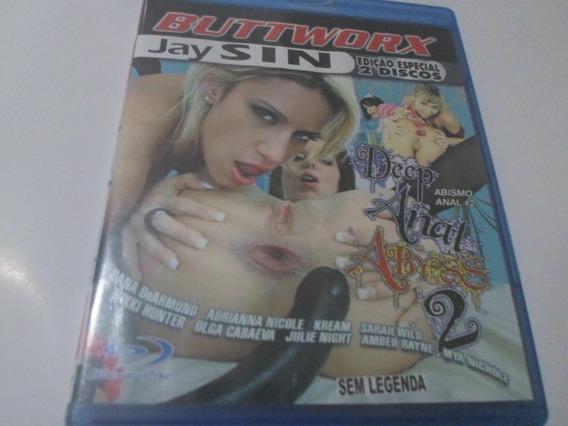 Bluray Abismo Anal 2 Nikki Hunter Frete Somente R$10,00 Cr