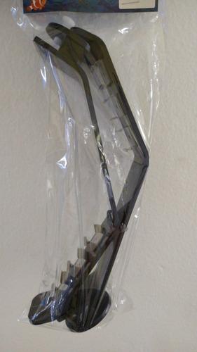 Imagem 1 de 3 de Aqualumi Suporte Para Luminária (até 3 Barras) - Par -preto