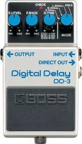Pedal De Guitarra Dd-3 Digital Delay - Dd3 Boss