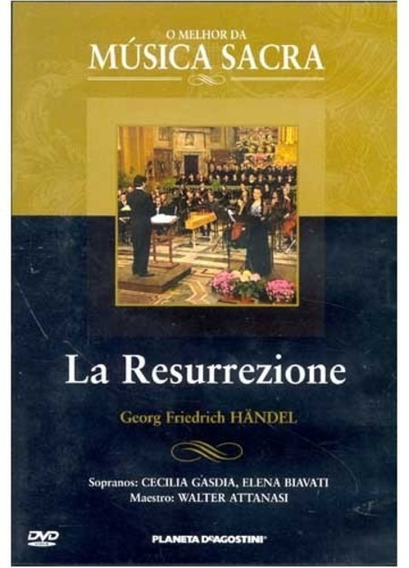 Handel, La Resurrezione - Dvd (lacrado)