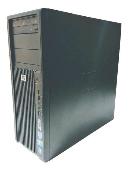 Hp Workstation Z200 I5 8gb Ram Hd320 Win7 Pro - Usado