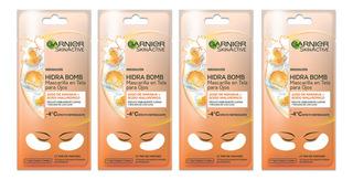 Mascarilla En Tela Para Ojos Garnier Skin Active Naranja X4u