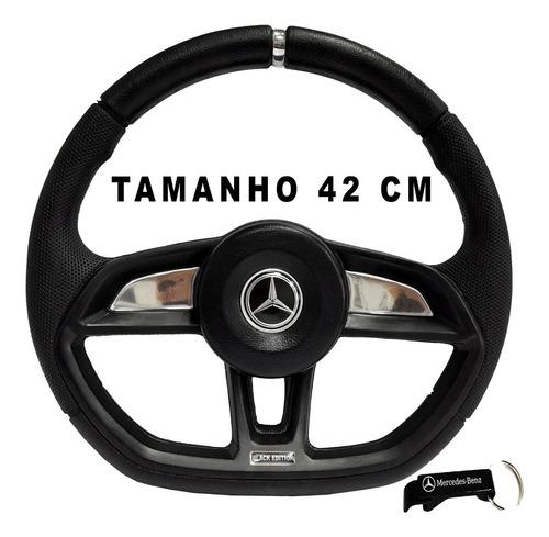 Volante De Caminhão Mercedes Benz Mb 914 Gti Black 42 Prata