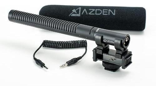 Microfone Azden Sgm-10 Para Cameras Dslr