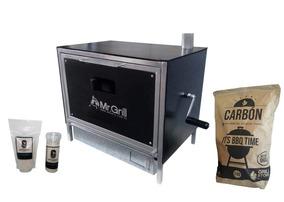 Grillstore - Horno Brasero Chico + Carbon X 2kg + Sal