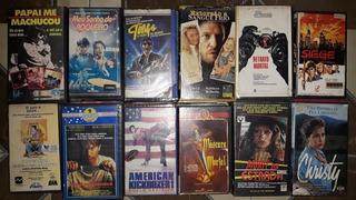 Lote 12 Vhs Filmes Originais