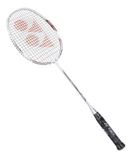 Raquete De Badminton Yonex Nanoray 70 Dx Branca E Prata