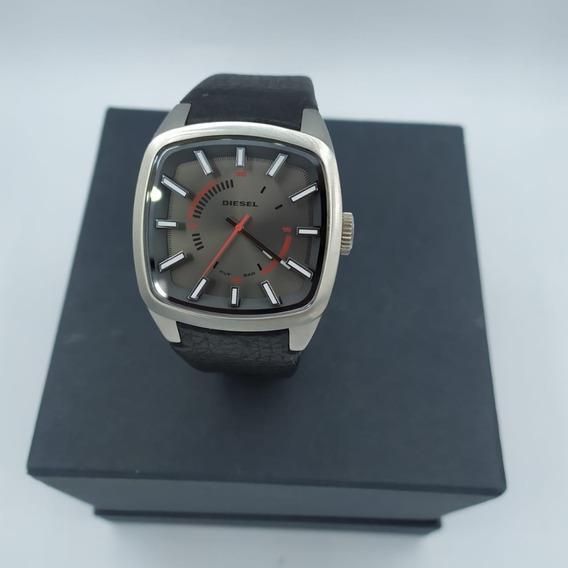 Relógio Masculino Diesel Couro Dz 1620 Original