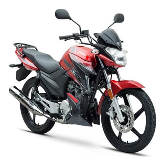 Yamaha Ybr 125 Zr 2019 Roja