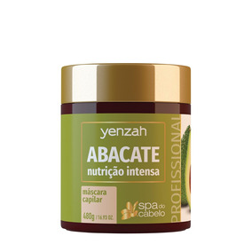 Yenzah Spa Do Cabelo - Abacate 480g