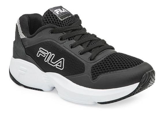 Zapatillas Fila Extra Jog Black Dama Trainning Moda!! @